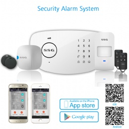 SSG New Product GSM Or PSTN Home Alarm Security System